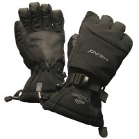 Heads Waterproof Winter Gloves With Heat Pack Pocket