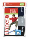 Hanes Boys Comfort Soft Dyed Boxer Briefs