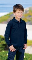 Port Authority® - Youth Silk Touch™ Long Sleeve Sport