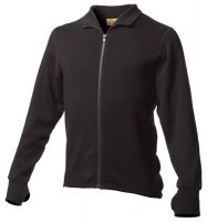 Mens Expedition Weight 100% Merino Wool Full Zip Jacket