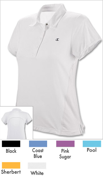 Women's Athletic Vented Polo Shirt