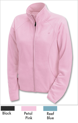 Champion Womens Micro-Fleece Tech Jacket