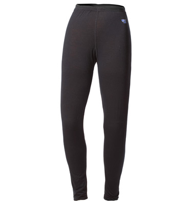 Womens Medium Weight 100% Merino Wool Thermal Pant
