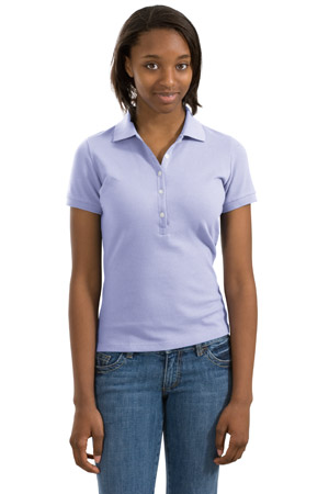 District Threads® - Junior Ladies Original Stretch Pique Po