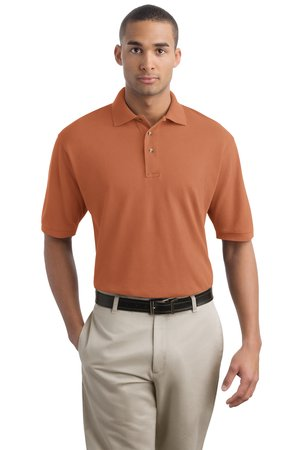Port Authority® - Pigment-Dyed Pique Knit Sport Shirt. K42
