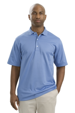 Shadow Stripe Interlock Polo Sport Shirt