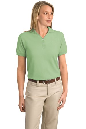 Port Authority® - Ladies 100% Organic Cotton Sport Shirt.