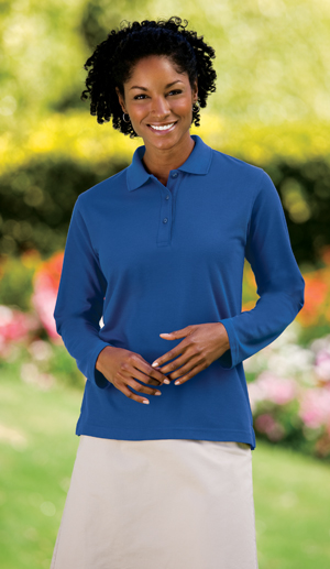 Port Authority® - Ladies Silk Touch™ Sport Shirt. L50
