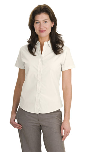 Port Authority® - Ladies Short Sleeve Easy Care, Soil Resis