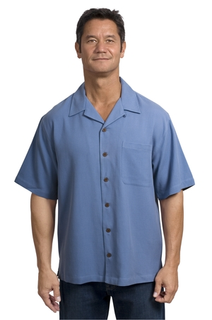 Men's Silk Blend Lightweight Golf Shirt