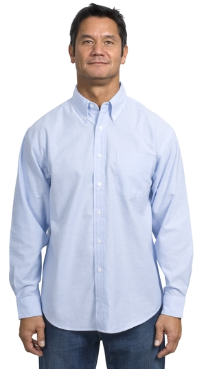 Port & Company® - Long Sleeve Value Oxford. SP30.