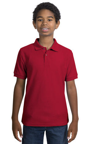Port Authority® - Youth Silk Touch™ Sport Shirt. Y500