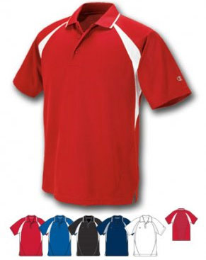 Champion Wicking Polyester Golf Shirt