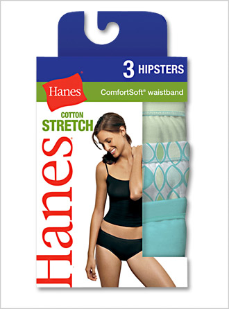 Ladies Soft Cotton Stretch Athletic Hipster Brief