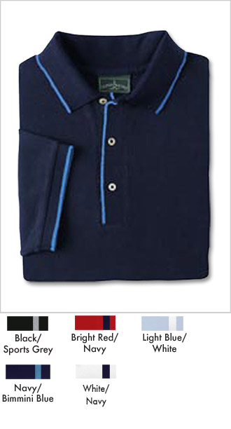 Mens Athletic Fashion Pique Polo Shirts