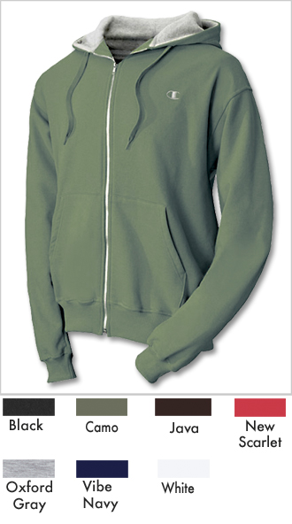 Men's Champion Full Zipper Athletic Hoodie
