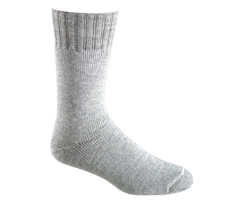 Mens Worsted Wool Backpacker Sock