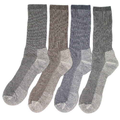 No Itch Merino Wool Outdoor Socks 4 Pack