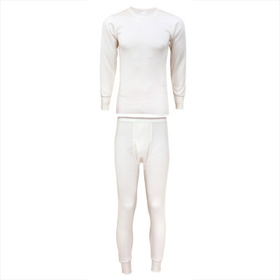 Men's Extra Heavy Weight 100% Cotton Thermals